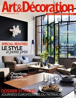 LEFEVRE INTERIORS FEATURED IN FRENCH MAGAZINE ART&DECORATION 2014