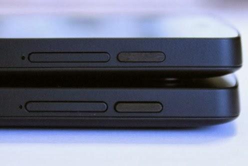 Aumentato il diametro del foro del microfono del Nexus 5 per catturare meglio l'audio
