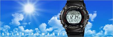 g-shock thought solar
