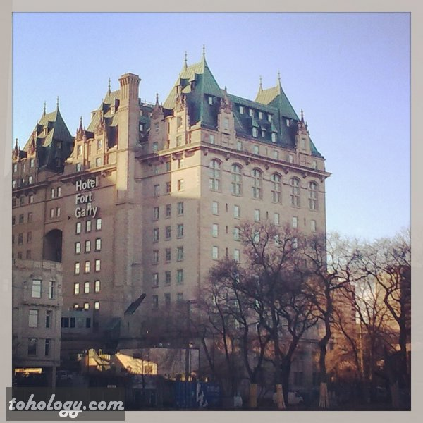 The Fort Garry Hotel in Winnipeg Canada