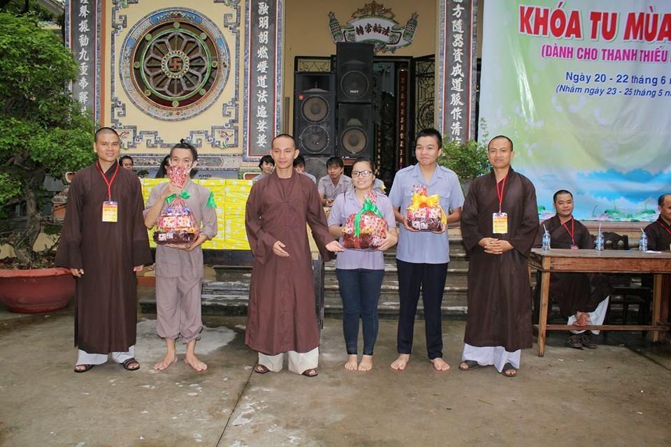 chùa phước viên,khóa tu mùa hè,2014,đồng nai