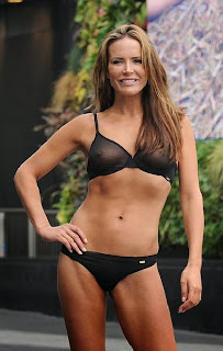 Sophie Anderton Black Bikini London