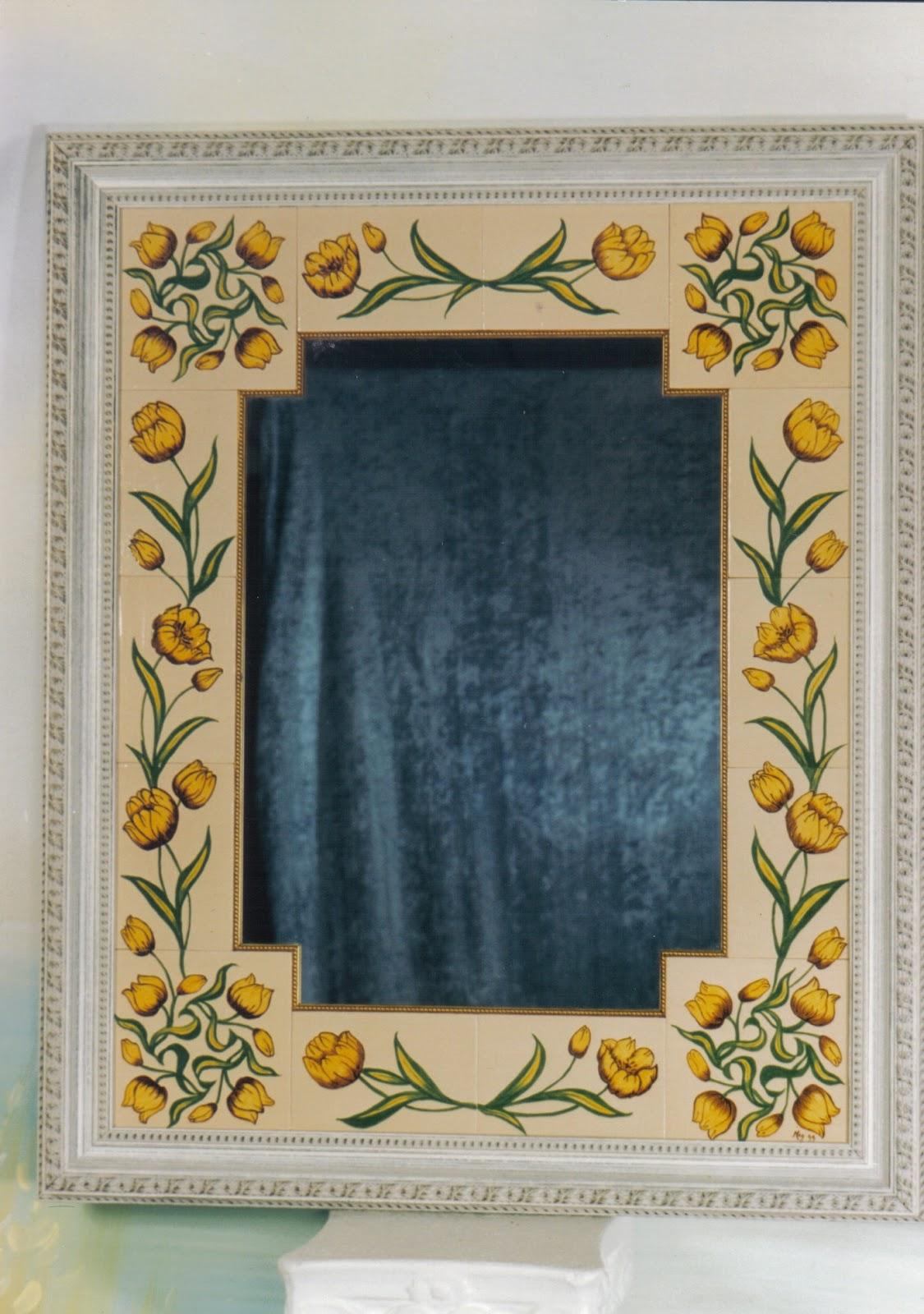 Espejos manualidades arteland for Espejos con marcos decorados