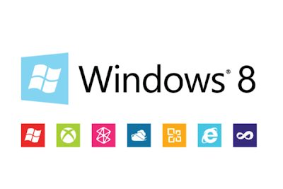 Windows 8 Logo with its app logo: Intelligent Computing