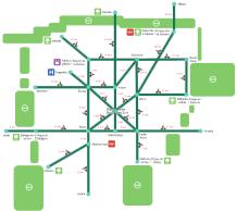 ACTUALIZADO: Plano de vías ciclistas de Vitoria-Gasteiz (NUEVO PlANO 2015)