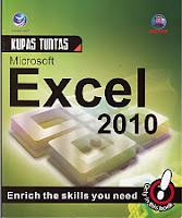 toko buku rahma: buku KUPAS TUNTAS MICROSOFT EXCEL 2010, pengarang madcoms, penerbit andi