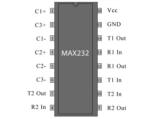 max232-ic-pin-diagram-working