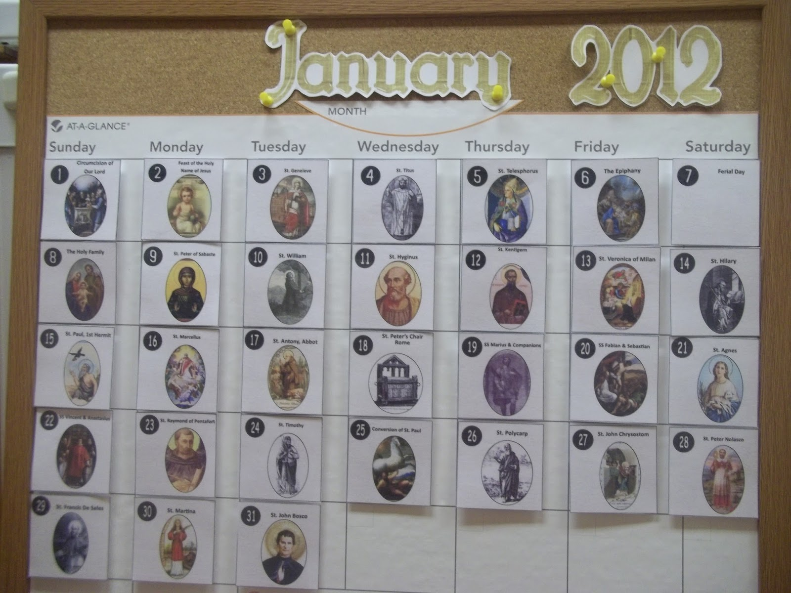 Diy Liturgical Calendar : In faith and love diy liturgical year bulletin board