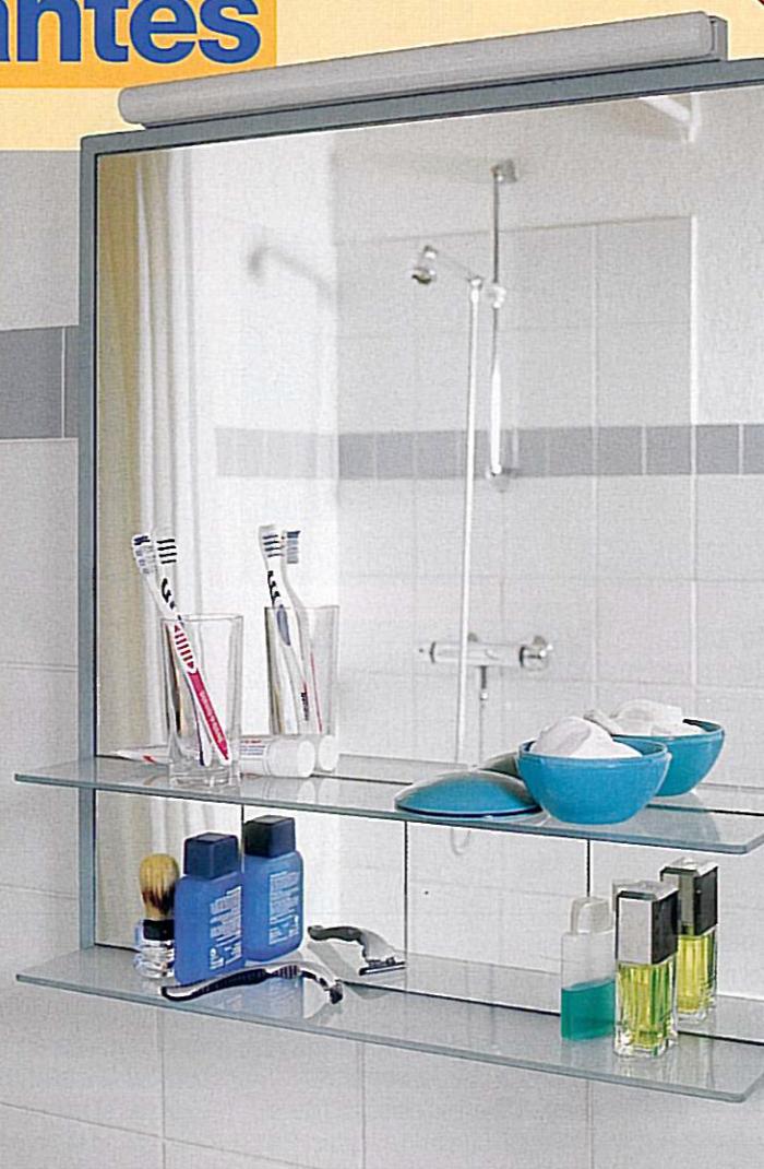 estantes de bao para colgarde lneas rectas y sencillas este espejo provisto de estantes es un estantes de bao para colgar