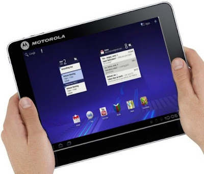 Motorola Ice Cream Sandwich Tablet