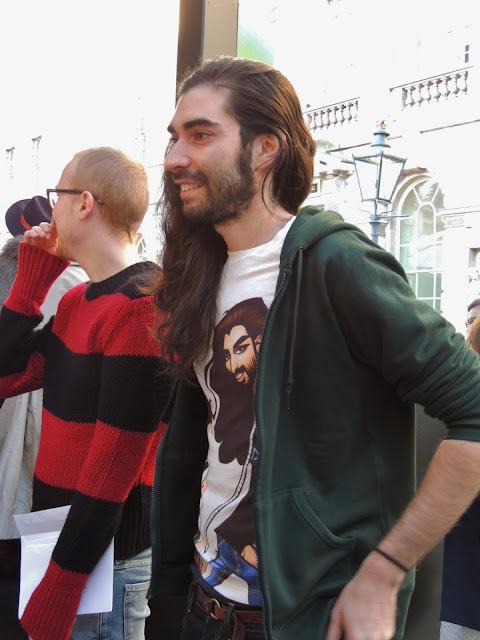 Fyodor Golan LFW Fashion Fringe
