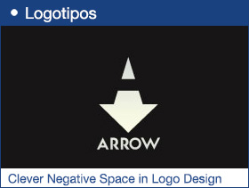20 Examples of Clever Negative Space in Logo Design