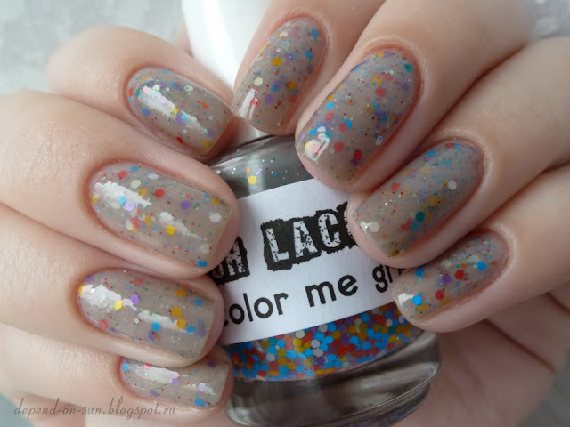 Lush lacquer Color me gray