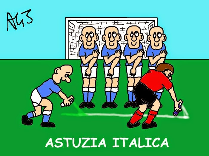vignetta Mondiali fifa 2014,