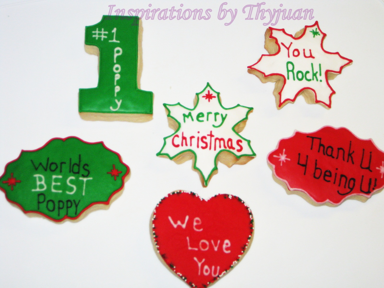 Inspirations by Thyjuan LLC.: Christmas Cookies