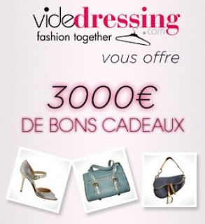 30 bons cadeaux de 100 euros sur Videdressing.com à gagner