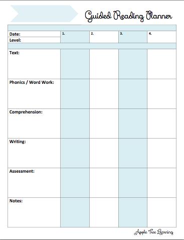 4 Student GR Planner
