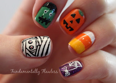 Fundamentally Flawless: Halloween Nail Art