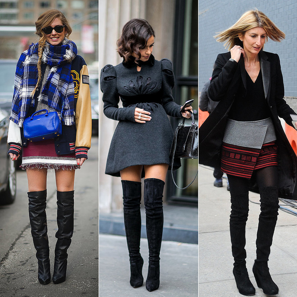 Fall 2015 Trend : Over The Knee Boots - The NEON Factor