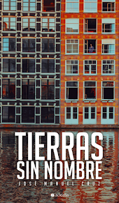 """Portada de mi libro de poemas """"Tierras sin nombre"""" (2020)"""