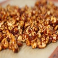 Receita de Amendoins Caramelizados