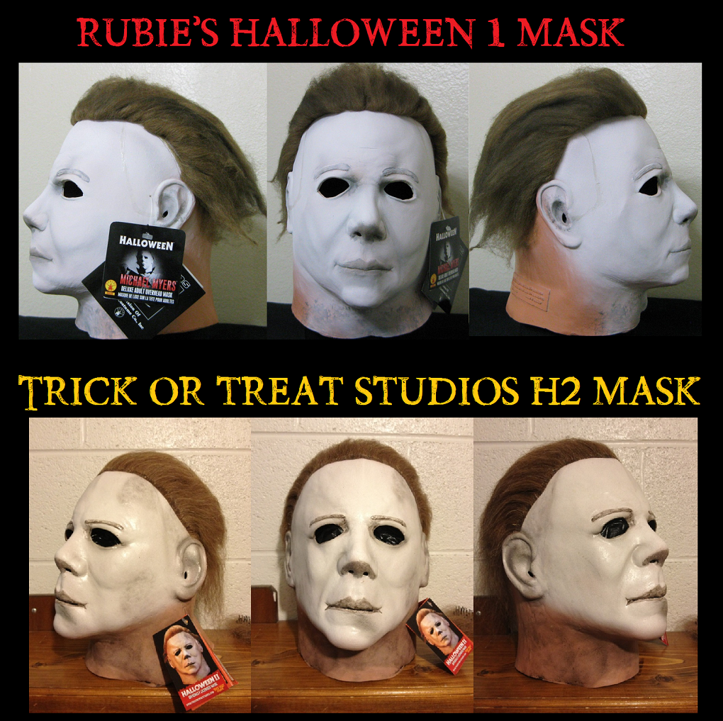 Michael Myers Mask: Trick or Treat Studios vs Rubie's Costume Co ...