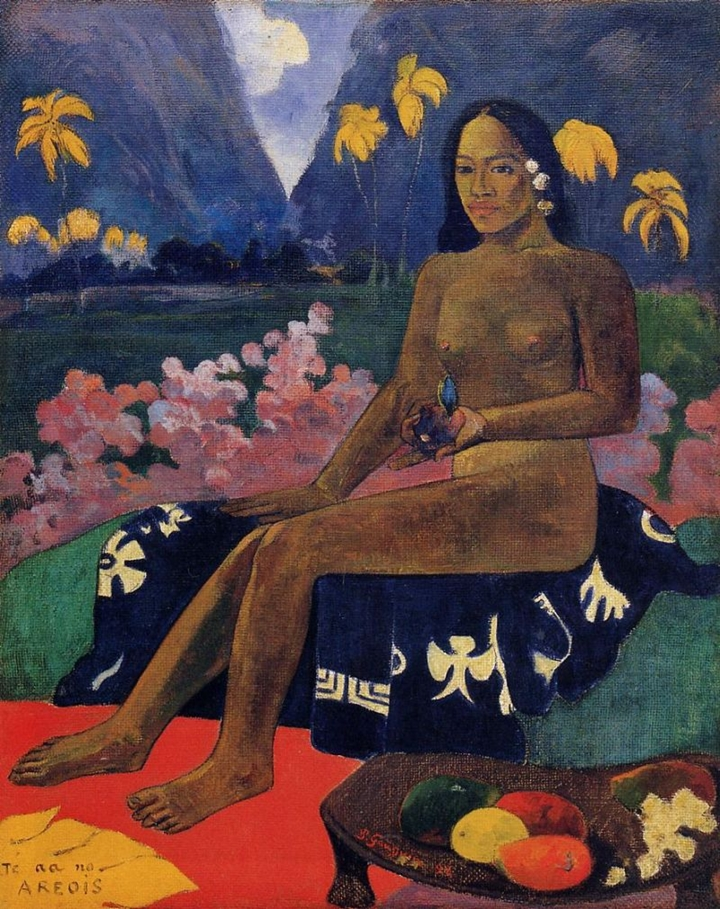 Paul Gauguin 1848-1903 | French Post-Impressionist painter | The Nude portrait