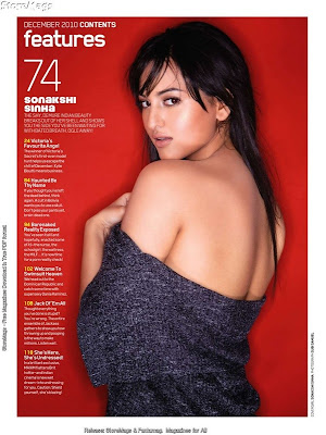 Sonakshi Sinha Hot Photoshoot for Maxim