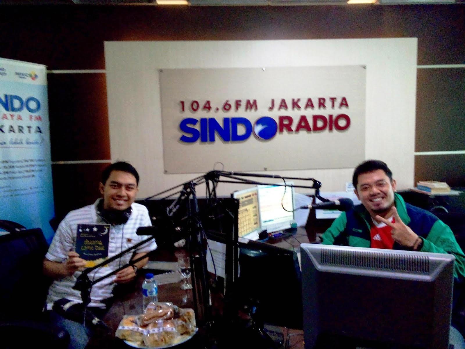 Berbagi Inspirasi di Sindo Trijaya FM