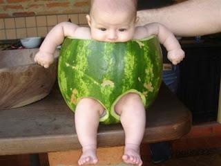 baju bayi semangka