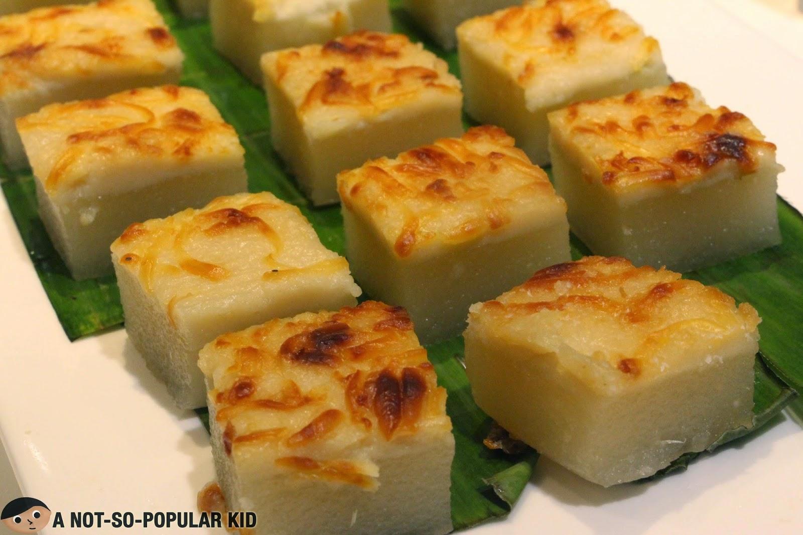Maja Blanca Filipino Dessert with Cheese