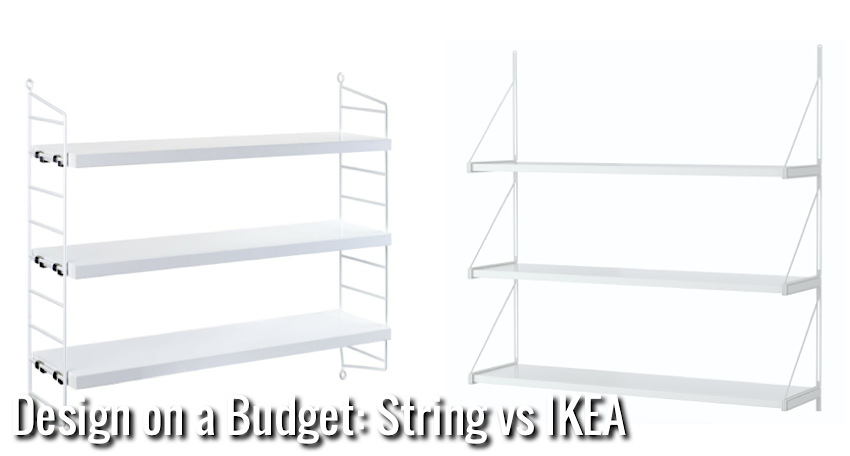 Design on a budget nordic days by flor linckens for White string shelves