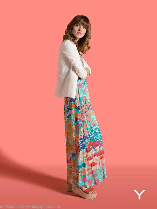Yagmour primavera verano 2015 vestidos.