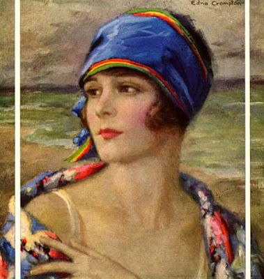 Cuadro de Edna Crompton, Mónica López Bordón, poesía, editorial Playa de Ákaba