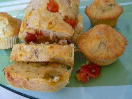 Recette de cake thon tomates cerises