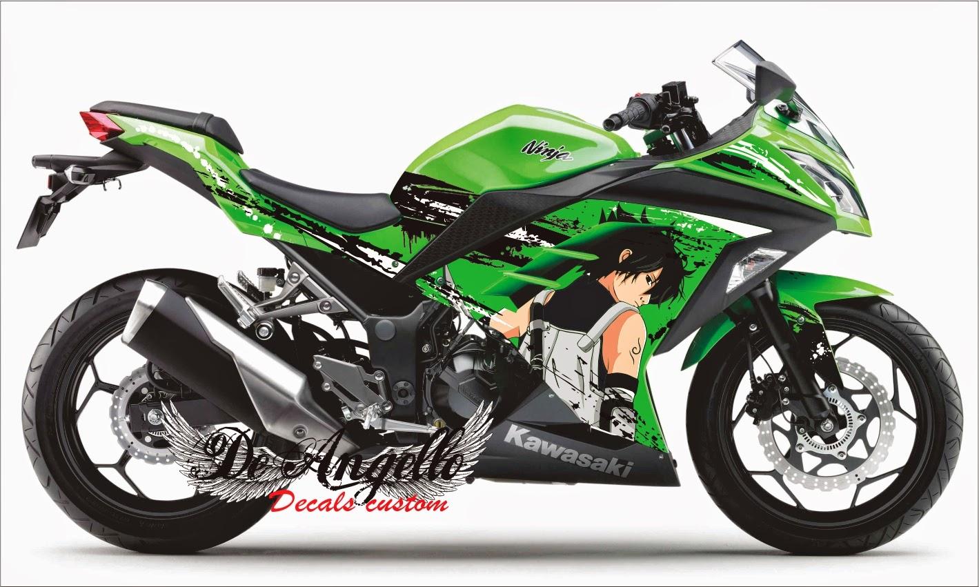 kumpulan modifikasi kawasaki ninja 250 fi hijau sangar