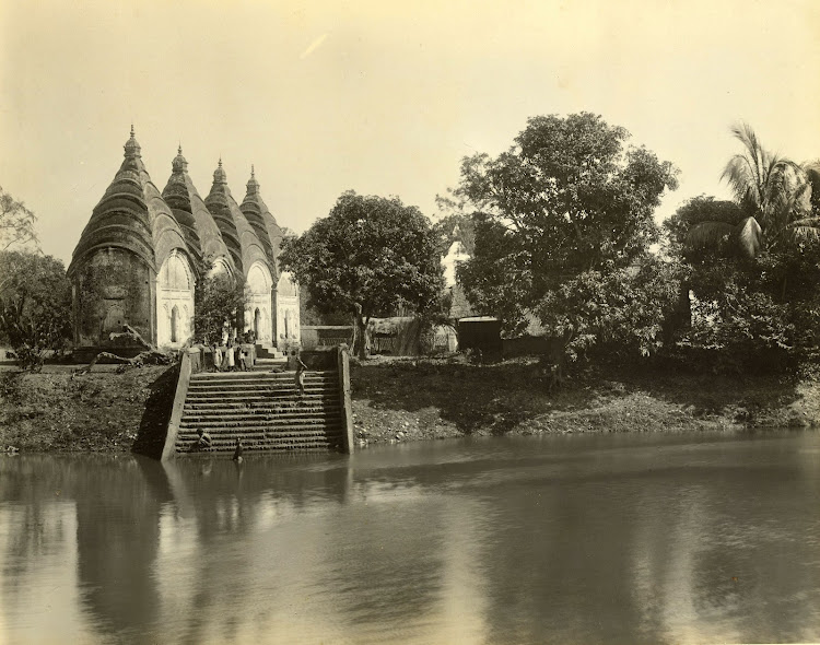 Dhakeshwari Temple in Dhaka (Currently in Bangladesh) - 1904