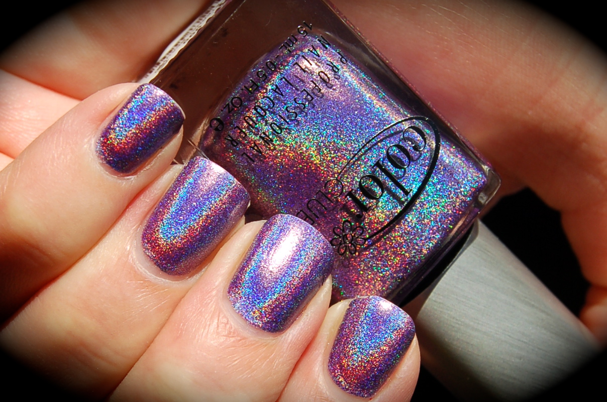 Swatch of Color Club Eternal Beauty, bilder Color Club Eternal Beauty, Halo Hues 2013, nail polish