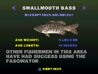 Download Game Big Bass Fishing PS1