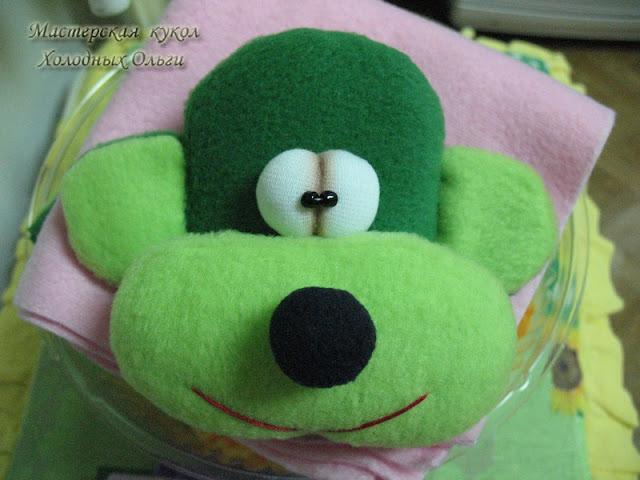 Зеленая голова