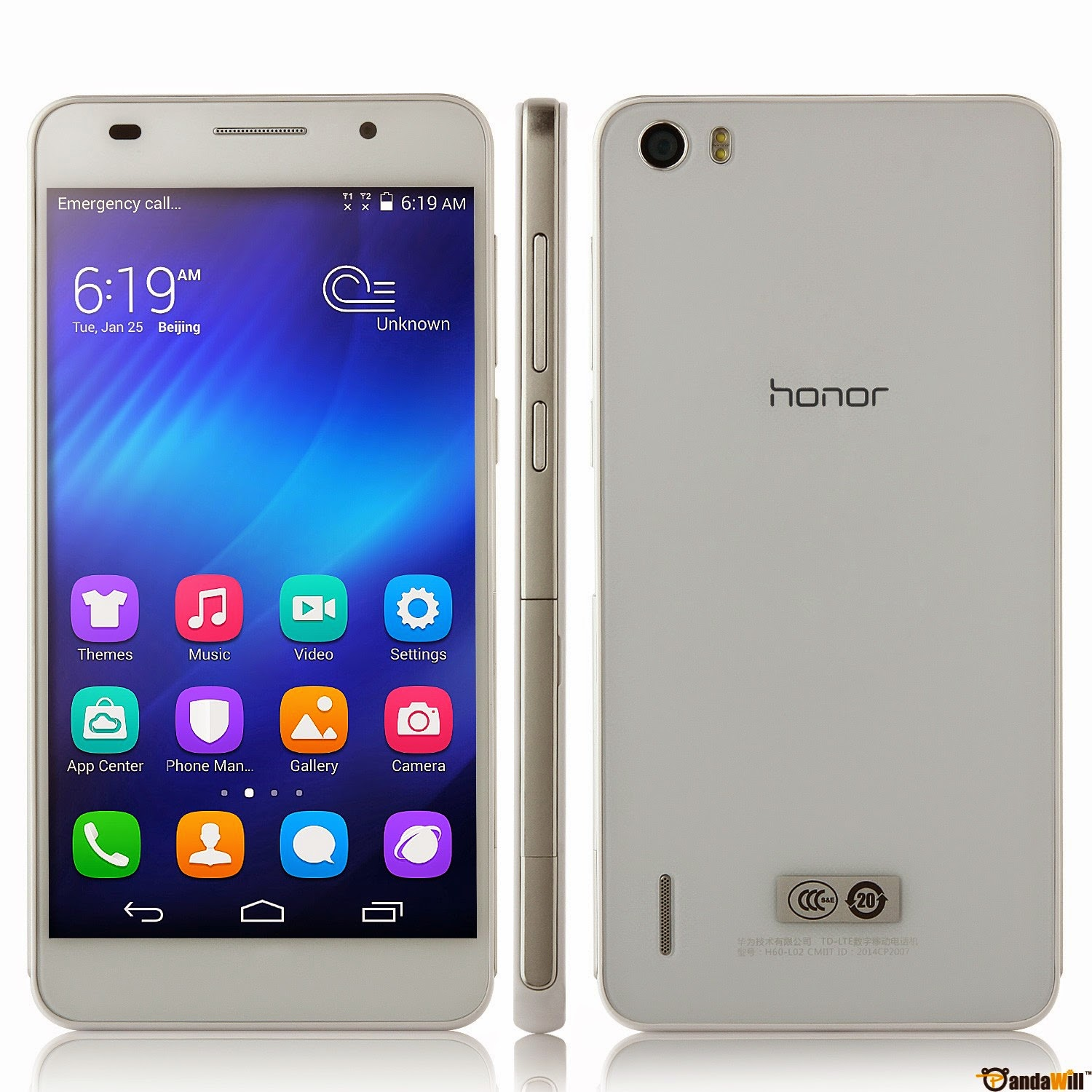 Huawei Honor 6, 4G LTE, Android smartphone, new Android smartphone, Full HD video, Wi-Fi