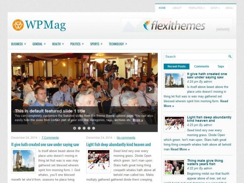 WPMag - Free Wordpress Theme