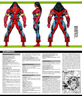 Sendero de Guerra (ficha marvel comics)