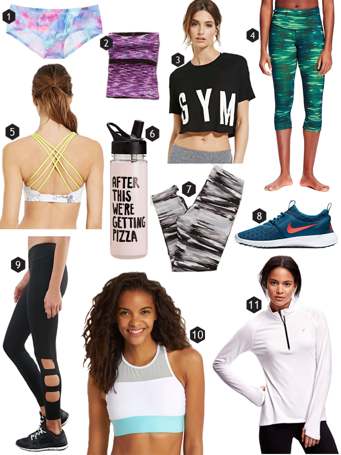cute and affordable workout gear