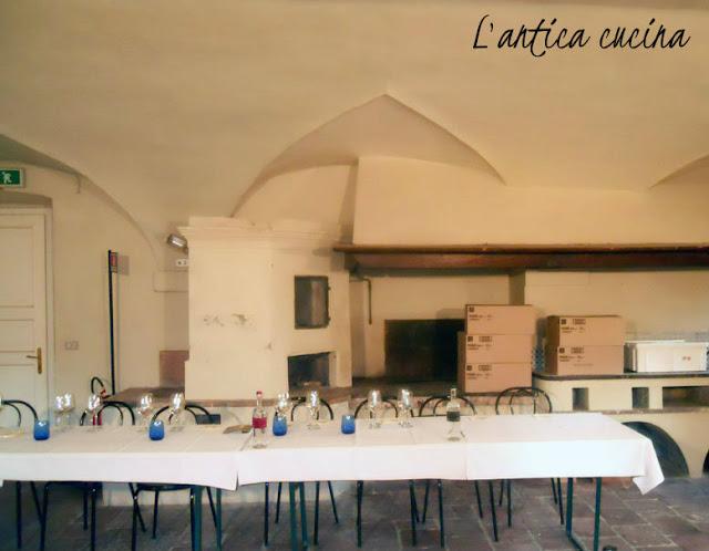 Antica cucina villa Bottini Lucca