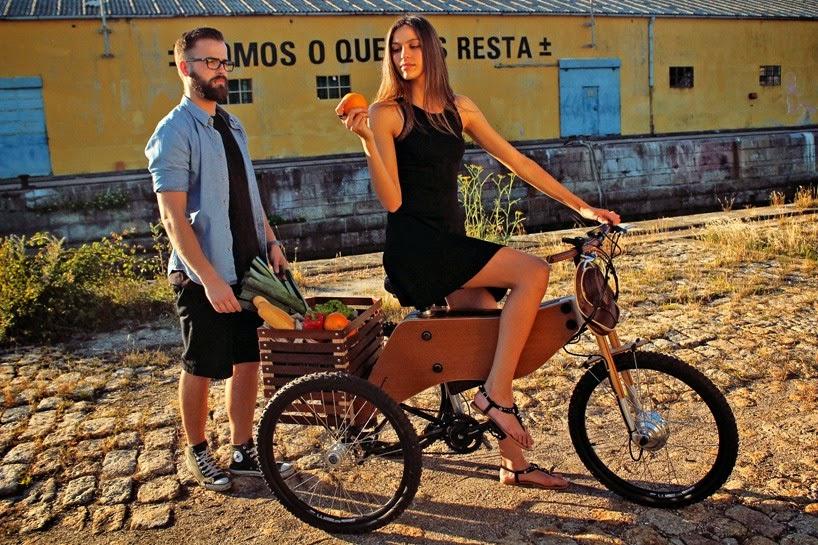 Triciclo con Motor Electrico, Vehiculos Ecorresponsables