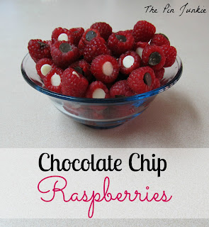 chocolate chip raspberries