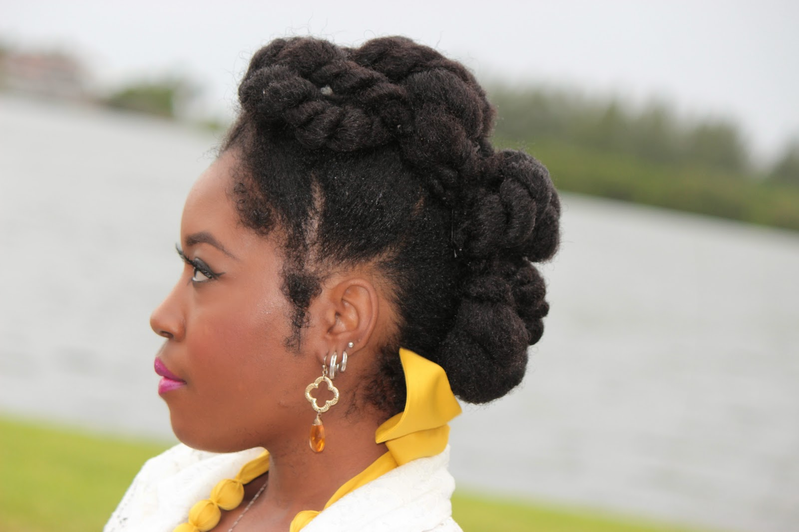 Natural HairTwisted Goddess Protective Style YouTube