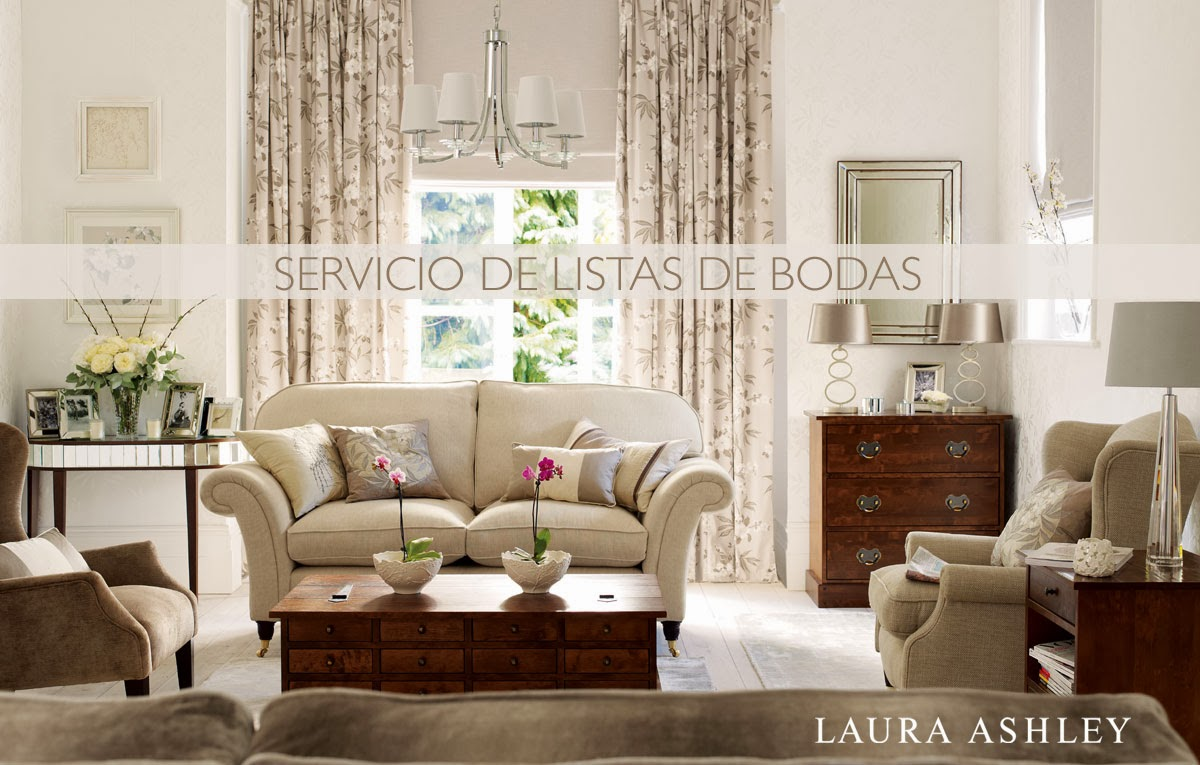 Nuevo Servicio de Listas de Boda de Laura Ashley