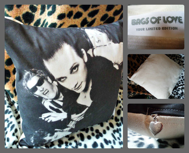 The Damned Cushion- a punk rock cushion!